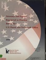 Attorneys and Agents Registered to Practice Before the U.S. Patent and Trademark Office