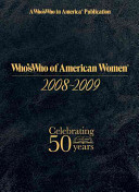 Who s Who of American Women 2008 2009 PDF