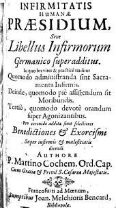Libellus Infirmorum, Benedictionum & Exorcismorum