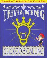 The Cuckoo s Calling   Trivia King  PDF