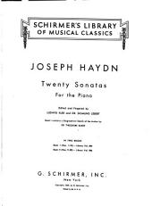 Twenty sonatas for the piano: Nos. 1-10 [i.e. in E♭, E min., E♭, G min., C, C♯ min., D, A♭, D, G
