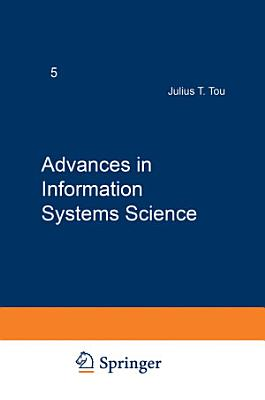Advances in Information Systems Science PDF