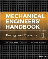 Mechanical Engineers  Handbook  Volume 4 PDF