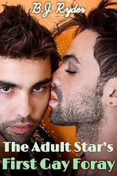 The Adult Star's First Gay Foray (First Time Gay Porn Erotica)