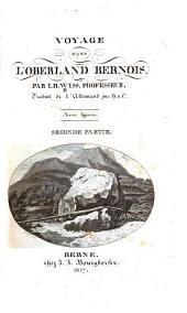 Voyage dans l'Oberland bernois: Volume2