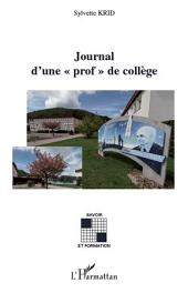 """Journal d'une """"prof"""" de collège"""