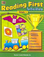 Reading First Activities  Grade 1 PDF