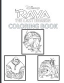 Raya and the Last Dragon Coloring Book