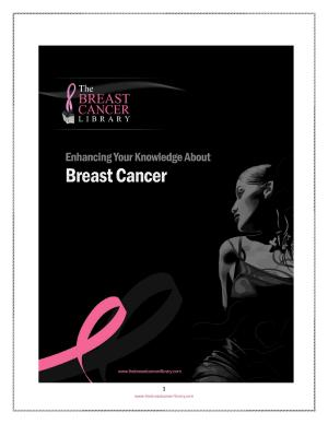 Enhancing Your Knowledge About Breast Cancer PDF