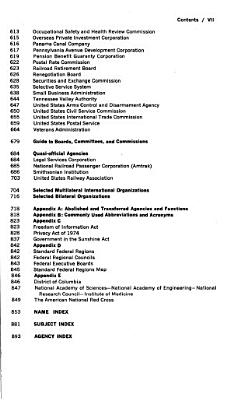 The United States Government Manual PDF
