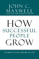 How Successful People Grow PDF