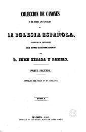 Colección de cánones de la Iglesia española, 5