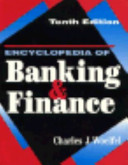 Encyclopedia of Banking and Finance PDF