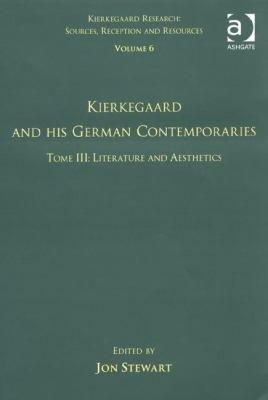 Kierkegaard And His German Contemporaries Philosophy