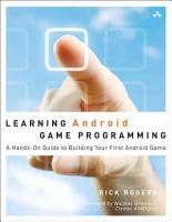 Learning Android Game Programming PDF