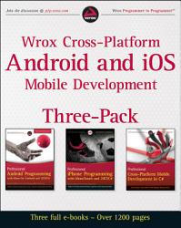Wrox Cross Platform Android And Ios Mobile Development Three Pack Book PDF