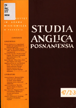 Studia Anglica Posnaniensia
