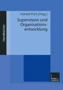 Supervision und Organisationsentwicklung PDF