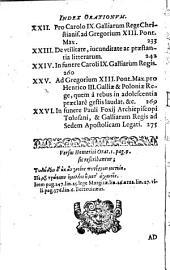 M. Antonii Mureti Presbyteri ... orations, epistolae, hymnique sacri: Volume 1