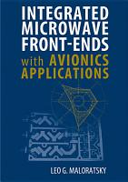 Integrated Microwave Front ends with Avionics Applications PDF