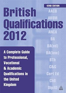 British Qualifications 2012 PDF