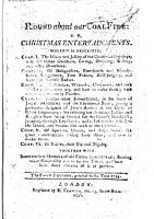 Round about our Coal Fire  or Christmas entertainments     Adorn d with many curious cuts PDF