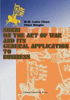 Sunzi on the Art of War and Its General Application to Business PDF