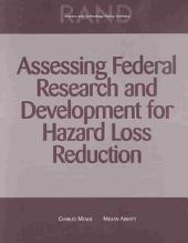Assessing Federal Research and Development for Hazard Loss Reduction: Issue 1734