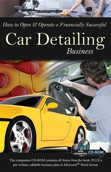 How to Open   Operate a Financially Successful Car Detailing Business PDF