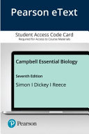 Pearson Etext Campbell Essential Biology Access Card
