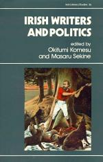 Irish Writers and Politics