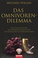 Das Omnivoren Dilemma PDF
