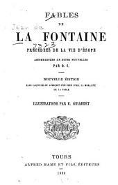 Fables de La Fontaine: précédées de la vie d'Ésope