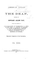 American Annals of the Deaf PDF