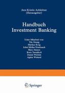 Handbuch Investment Banking PDF