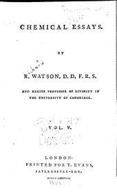 Chemical essays: Volume 5