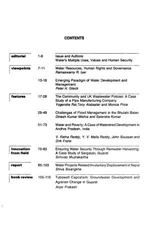 Water Nepal PDF
