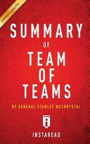 Summary Of Team Of Teams Book PDF