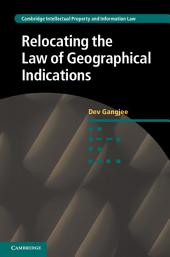Relocating the Law of Geographical Indications