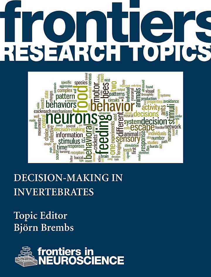 Decision-making in invertebrates
