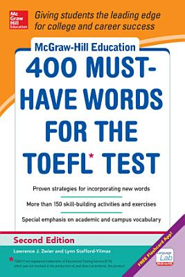 McGraw Hill Education 400 Must Have Words for the TOEFL  2nd Edition PDF