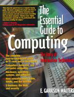 The Essential Guide to Computing PDF