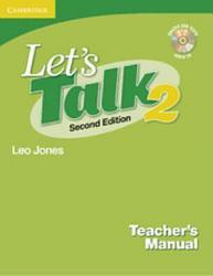 Let S Talk Level 2 Teacher S Manual 2 With Audio Cd Book PDF