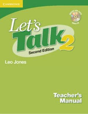 Let s Talk Level 2 Teacher s Manual 2 with Audio CD PDF