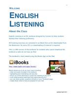 English Listening for ESL Students Book 1 PDF