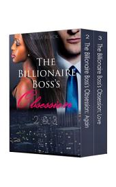 Boxed Set: The Billionaire Boss's Obsession 2 & 3 (BWWM Interracial Romance Short Stories)