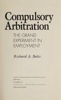 Compulsory Arbitration PDF