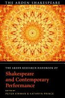 The Arden Research Handbook of Shakespeare and Contemporary Performance PDF