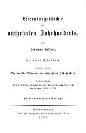 Literaturgeschichte des 18. Jahrhunderts: Geschichte der deutschen Literatur