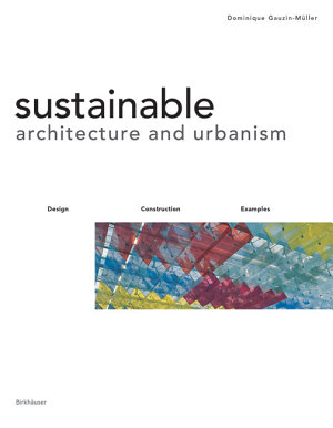 Sustainable Architecture and Urbanism PDF
